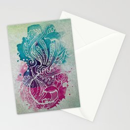 Ink Wave Stationery Cards