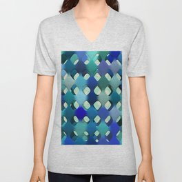Abstract Composition 612 Unisex V-Neck