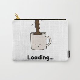 Morning Cup of Coffee Carry-All Pouch