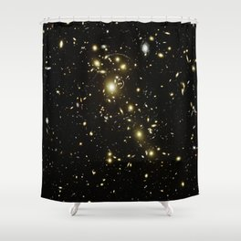 Distant galaxies, Abell 1703. Shower Curtain