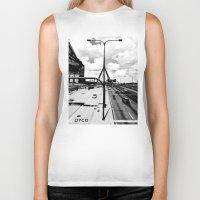 boston Biker Tanks featuring Boston by DYCO