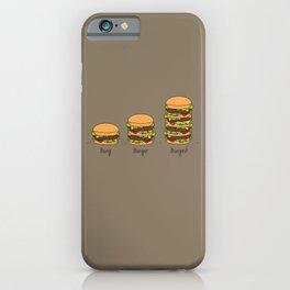 Burger explained. Burg. Burger. Burgest. iPhone Case