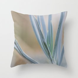 Botanical Grace Throw Pillow