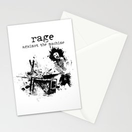 Rage Against the Machine Stationery Cards