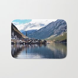 Hallstatt village Bath Mat