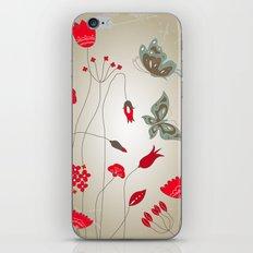 Tatemae Japanese Ochre iPhone & iPod Skin