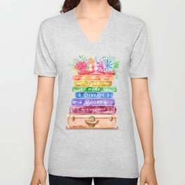 Diverse Books Unisex V-Neck