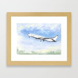 Airplane Flight Framed Art Print