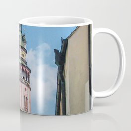 City of Croatia | Zagreb Simple Colorful Buildings Old World Medieval Architecture Beauty Coffee Mug