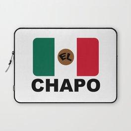 El Chapo Mexican flag Laptop Sleeve