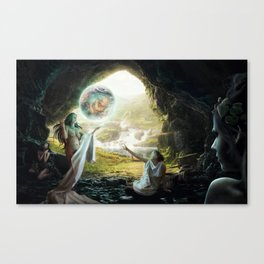 Birth of Zeus Canvas Print