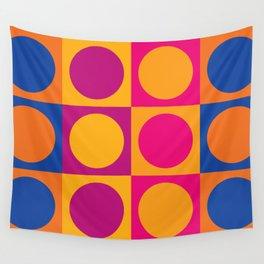 Swinging 60s Pop Art Pattern / Mod Design Wall Tapestry