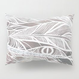 Earthy Feathers Pillow Sham