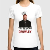 crowley T-shirts featuring I'm Crowley - Supernatural by KanaHyde