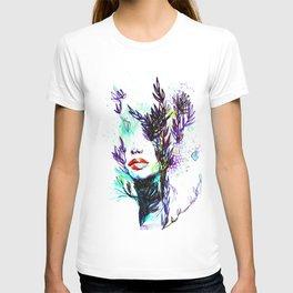 ABSTRACT WOMEN FACE T-shirt