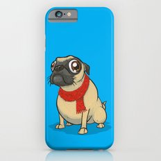 Pug with a scarf Slim Case iPhone 6s