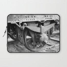 Old train wheel Laptop Sleeve