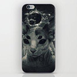CosmicSphynx iPhone Skin