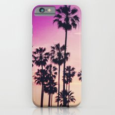 Sunset Palms Purple Tropical Sky iPhone 6s Slim Case