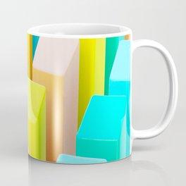 Color Blocking Pastels Coffee Mug