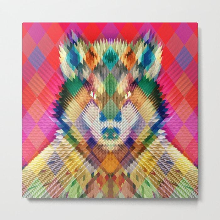 Corporate Wolf Metal Print