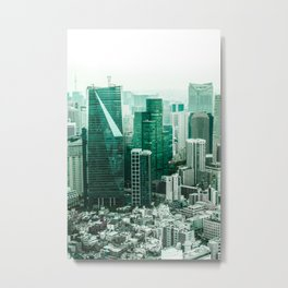 The Emerald City Metal Print