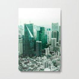 The Emerald City Metal Print