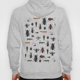 Color Insects Pattern Hoody