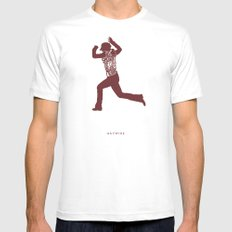 That Would Be A Mistake -Haywire Mens Fitted Tee SMALL White