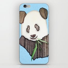 Panda Zen iPhone Skin