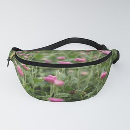 Field of Pink Fanny Pack
