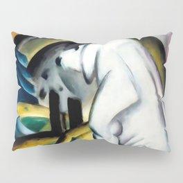 "Franz Marc ""The White Dog"" Pillow Sham"