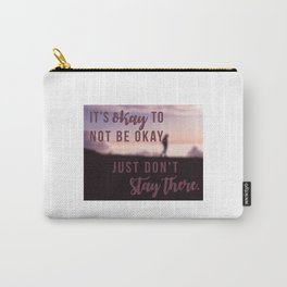 Keep going. Carry-All Pouch
