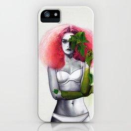 Garden Girls 3 - Mint iPhone Case