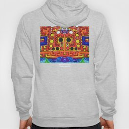"Alan J Eichman Abstract 0030 ""cosmic crate floating on the infinite sea"" Hoody"
