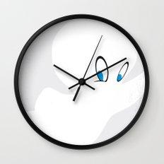 No752 My CASPER minimal movie poster Wall Clock