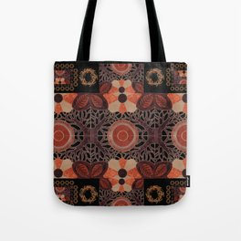 Gilded Autumn - Gilded Sunset Branches Tote Bag
