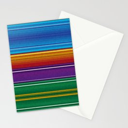 Mexican serape #3 Stationery Cards