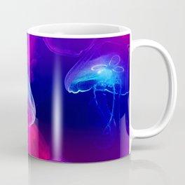 Neon in a jellyfish Coffee Mug