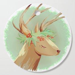 Holly Deer Cutting Board