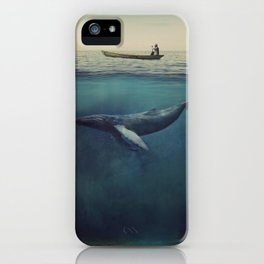 Old Sea and the Man iPhone Case