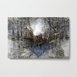 Tends to levitate when not looking. Metal Print