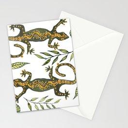 Lady Gecko Stationery Cards