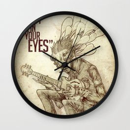 When I look in your eyes Wall Clock