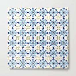 symmetric patterns 113 Metal Print