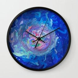 Abstract Mandala 299 Wall Clock
