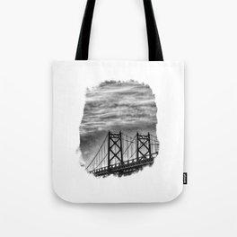 Iowa-Illinois Memorial Bridge - Close Up Tote Bag