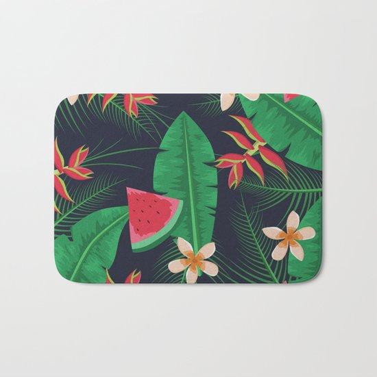 Tropical Watermelon Bath Mat