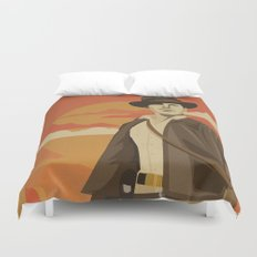 The Archeologist Duvet Cover