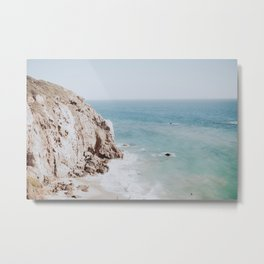 coast iii / malibu, california Metal Print